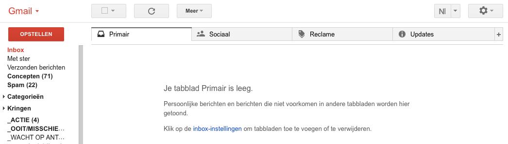 lege inbox; inbox zero; e-mail;