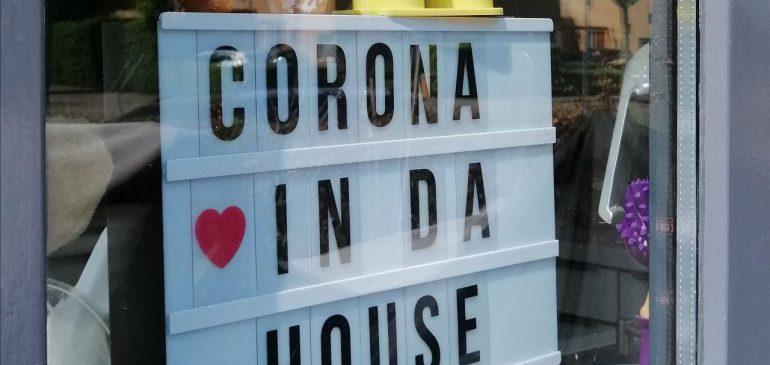 Corona weer thuis